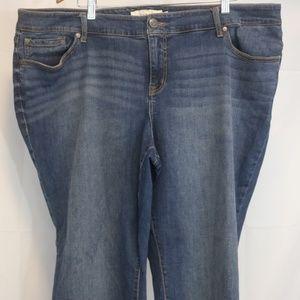 torrid Jeans - Torrid 24R Women's Jeans Relaxed Boot Blue